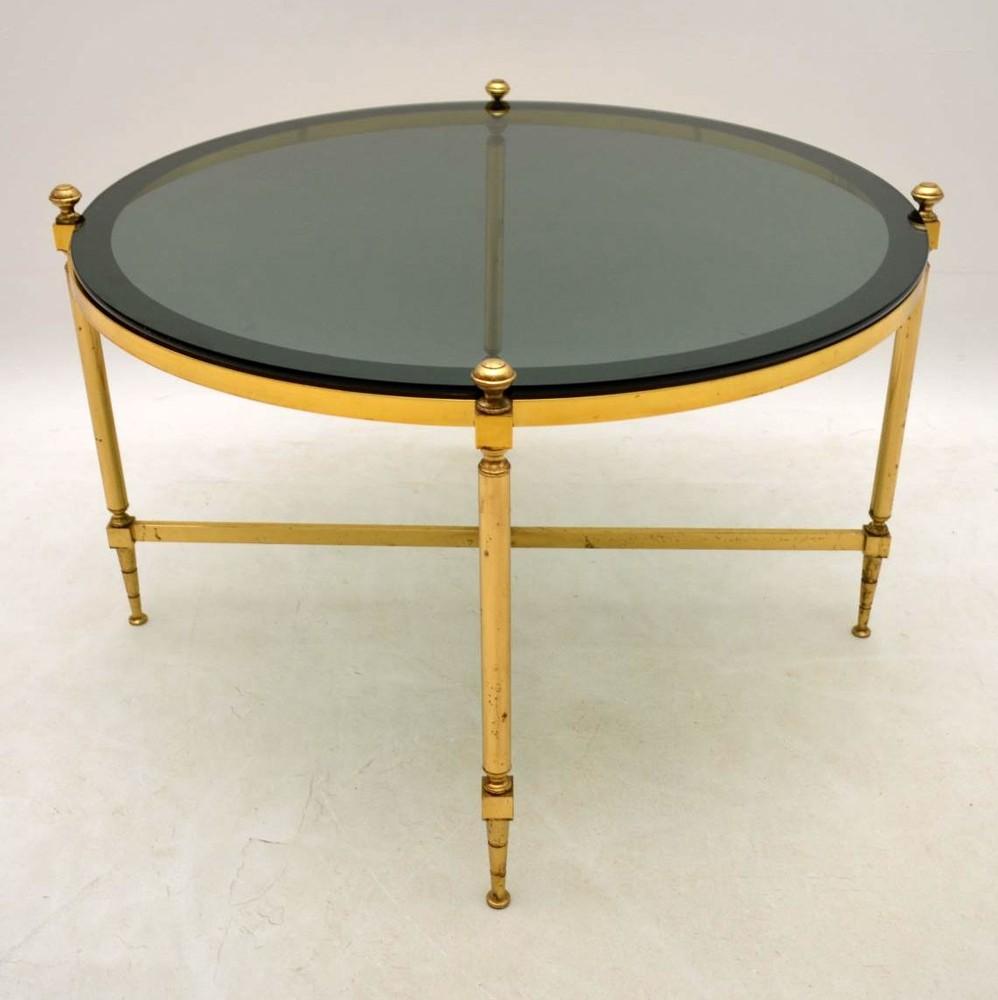 retro brass coffee table vintage 1960 s retrospective interiors vintage furniture second. Black Bedroom Furniture Sets. Home Design Ideas