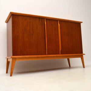 Retro Walnut Sideboard Vintage 1950's