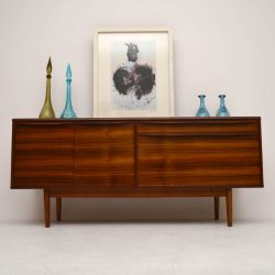 Retro Walnut Sideboard by Morris of Glasgow Vintage 1960's