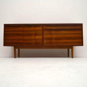 Retro Walnut Sideboard by Morris of Glasgow Vintage 1960's