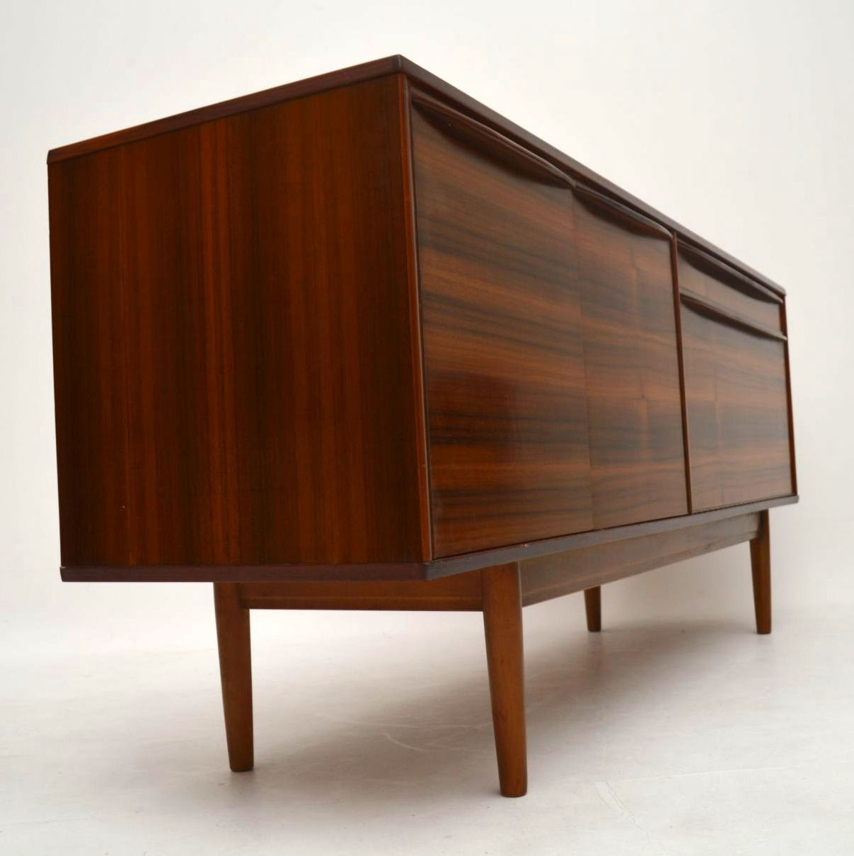 Retro Walnut Sideboard By Morris Of Glasgow Vintage 1960 S