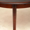 1960's Vintage Danish Rosewood Dining Table
