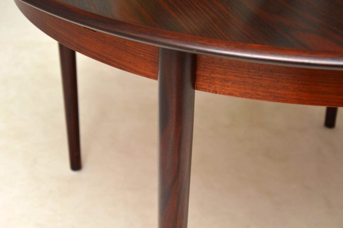 danish rosewood dining chairs by arne vodder danish rosewood dining table