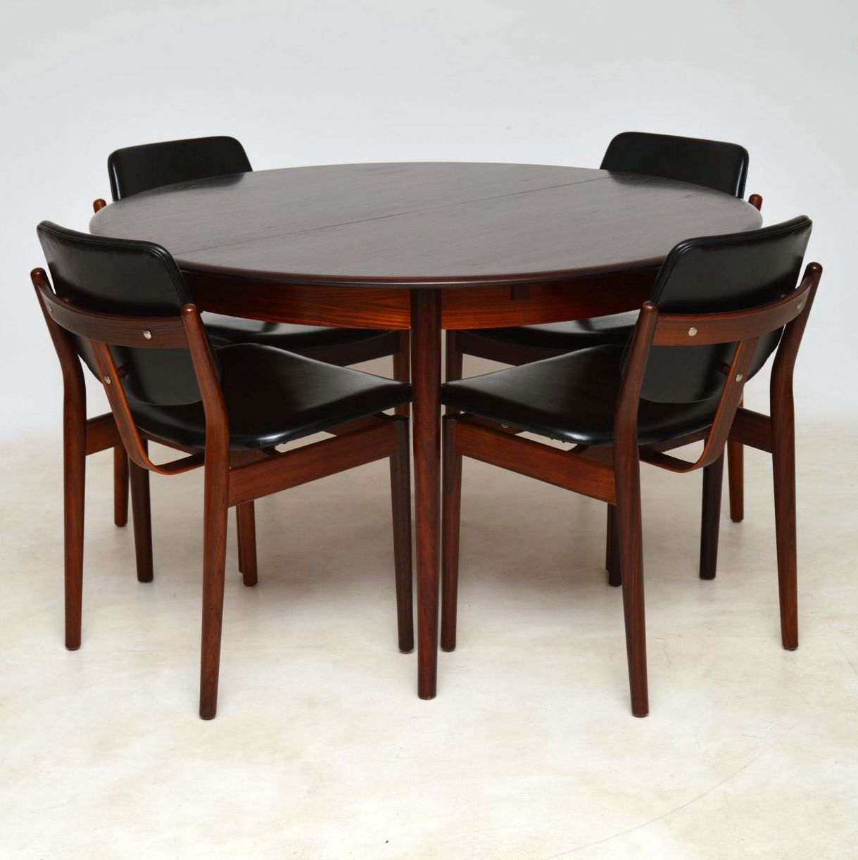 Danish Rosewood Dining Chairs By Arne Vodder & Danish