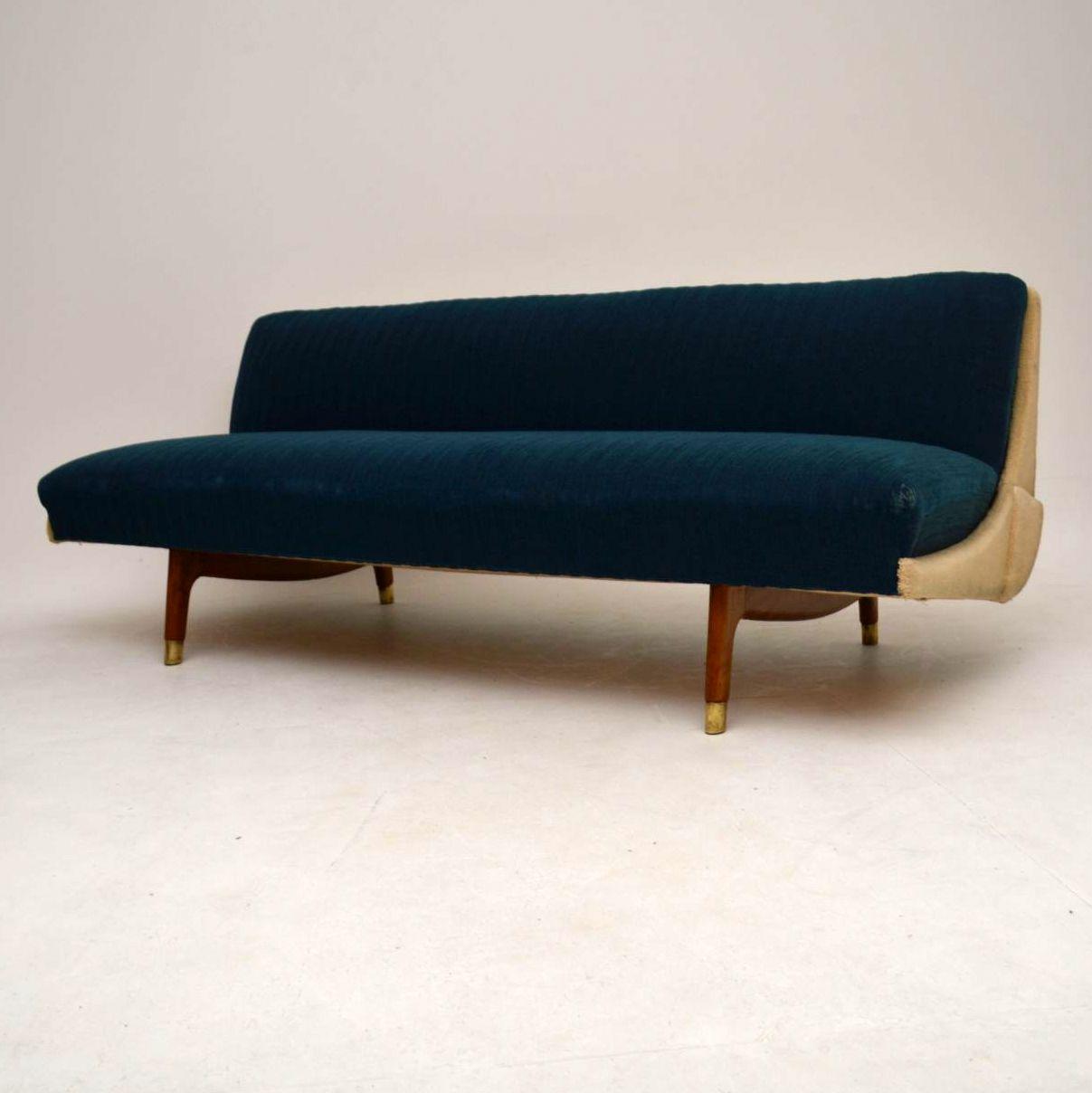 Danish Retro Sofa Bed Vintage 1950 S