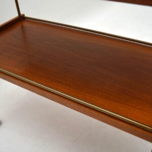 Danish Retro Teak Drinks Trolley Vintage 1960's