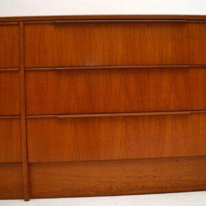 Danish Teak Retro Sideboard / Drawers Vintage 1970's