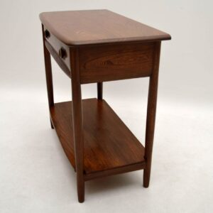Retro Solid Elm Side / Console Table by Ercol