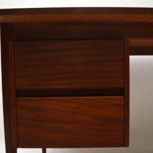 Retro Afromosia Desk Vintage 1950's