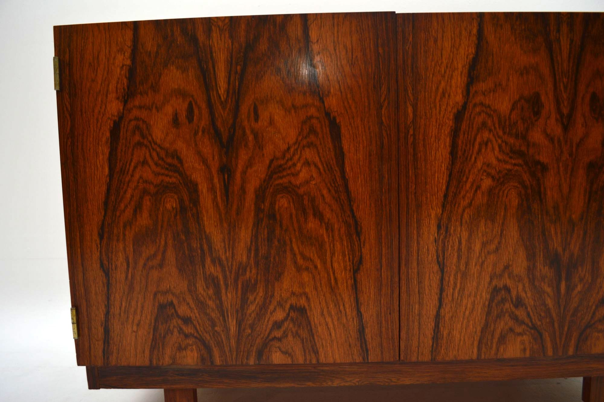 Retro Rosewood Sideboard Cabinet By Robert Heritage For