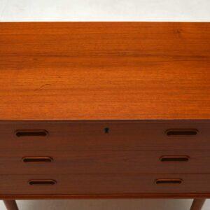 Danish Teak Retro Chest of Drawers Vintage 1960's