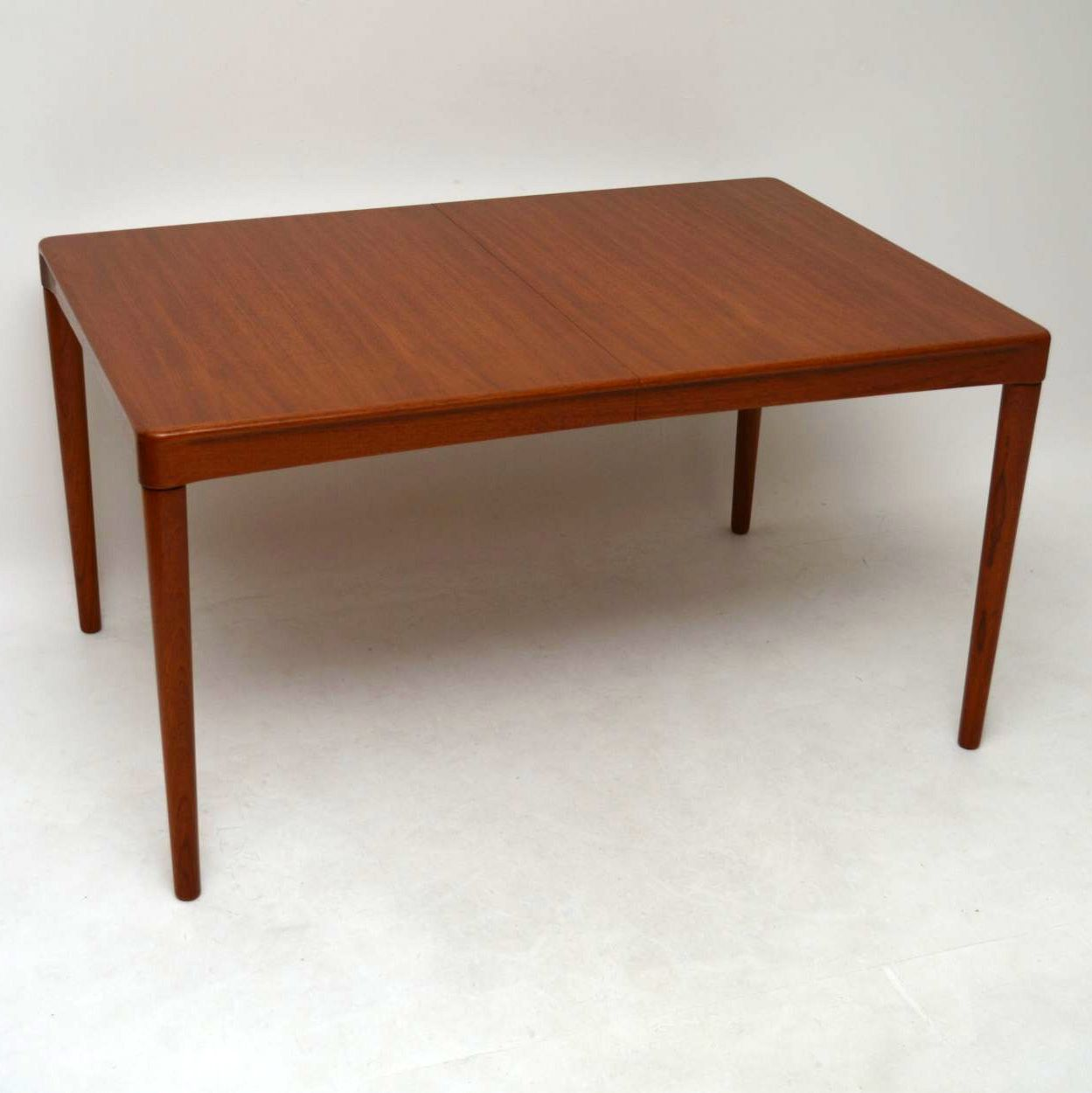 Danish Teak Retro Dining Table by H.W Klein for Bramin Vintage 1970's