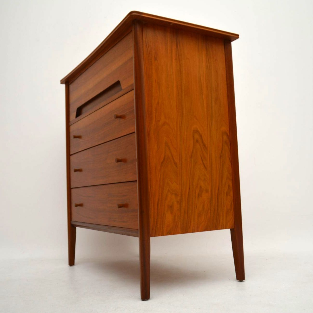 Retro Walnut Chest Of Drawers By Younger Vintage 1960 S