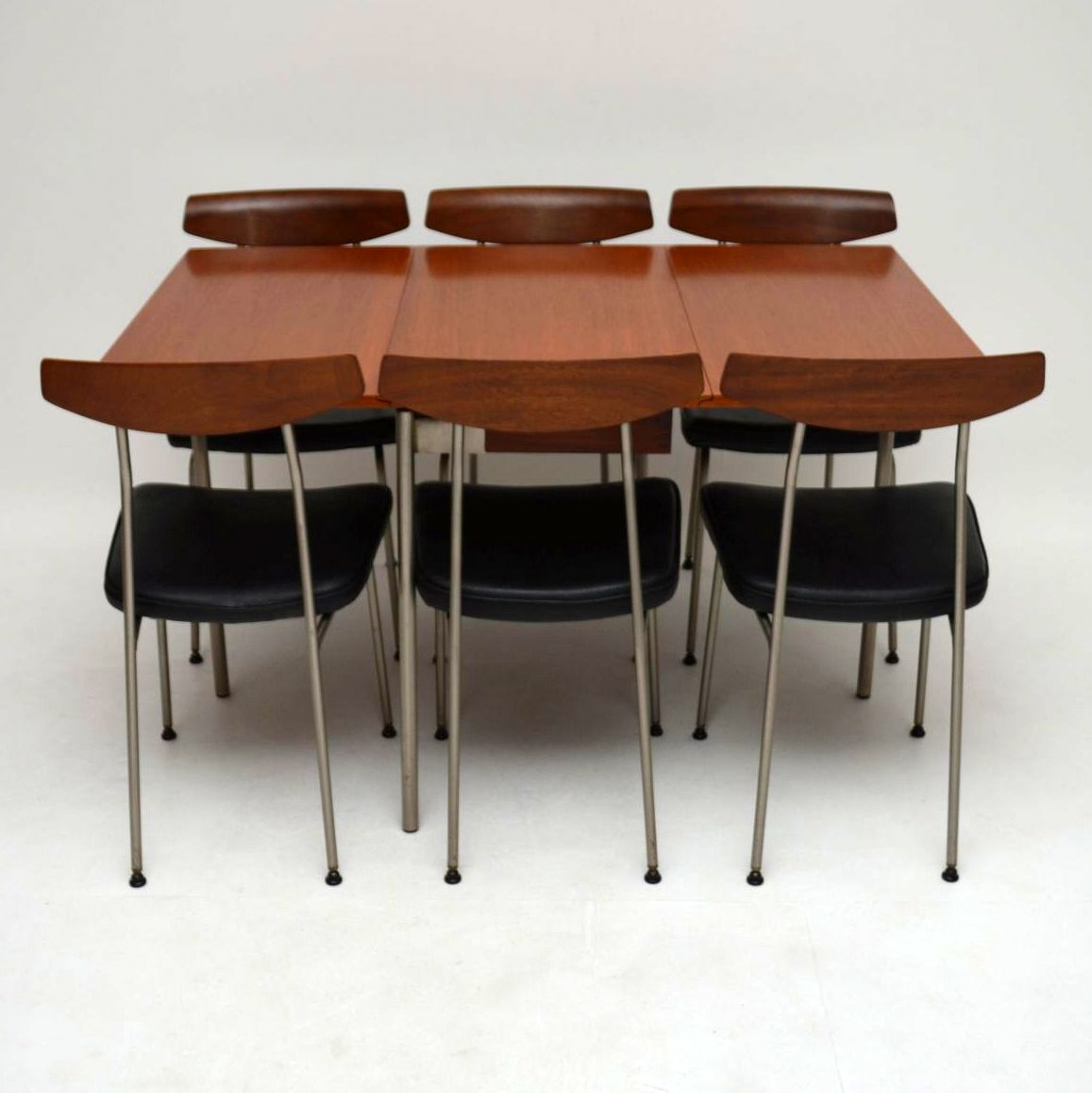Retro Stag Teak Dining Table Amp 6 Chairs By John Amp Sylvia