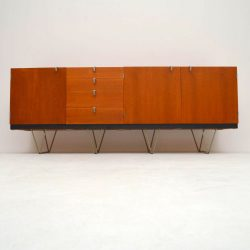 Pair of Retro Teak Cabinets by John & Sylvia Reid for Stag S Range Vintage 1950's