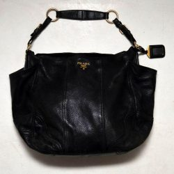Vintage Leather Prada Ladies Handbag