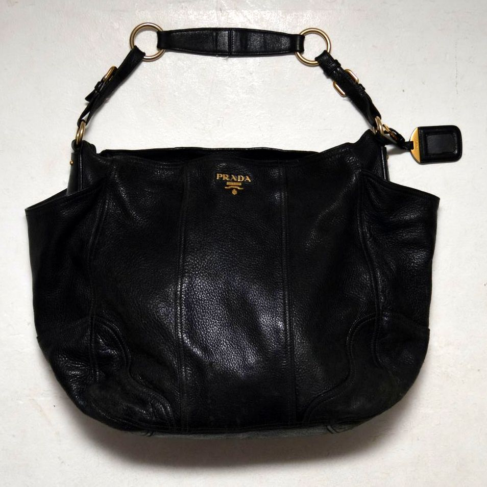 f505230e049f Vintage Leather Prada Ladies Handbag | Retrospective Interiors – vintage  furniture, second hand vintage furniture, danish furniture, retro furniture