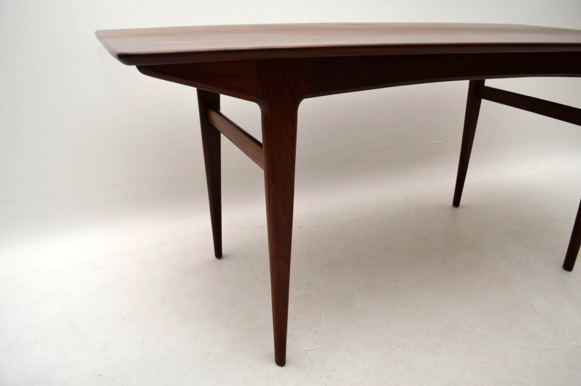 Retro Afromosia Dining Table & Chairs by John Herbert for Younger