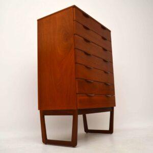 1960's Teak Retro Chest of Drawers