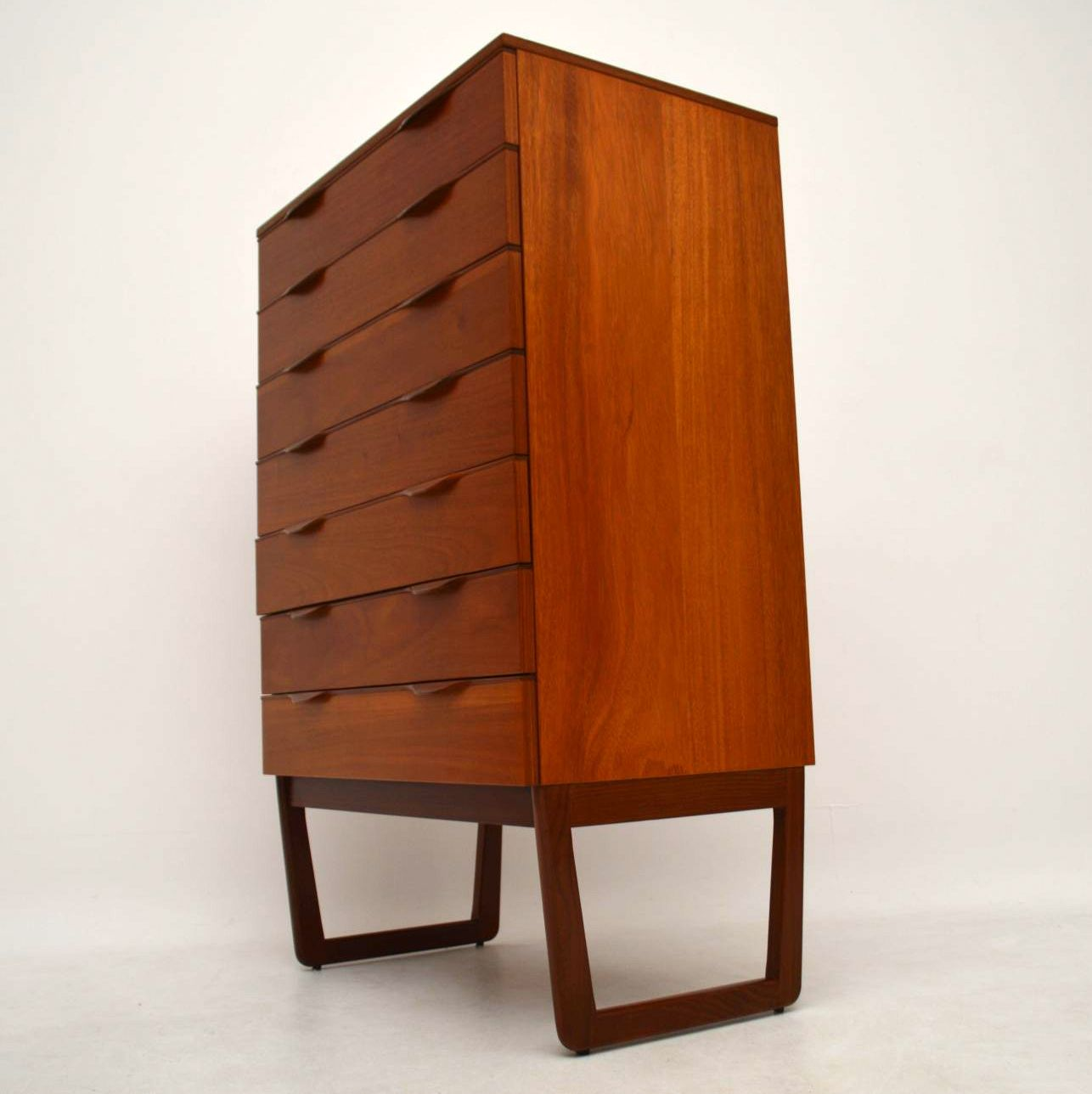 1960 S Teak Retro Chest Of Drawers Retrospective