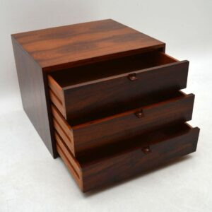 1960's Retro Rosewood Low Chest of Drawers