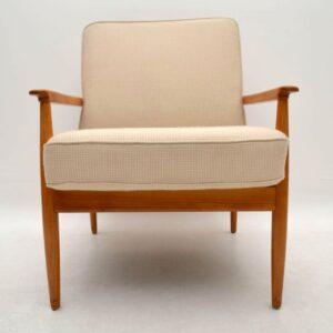 1960's Pair of Retro Danish Armchairs