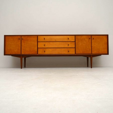 1960's Vintage Teak & Satin Wood Sideboard
