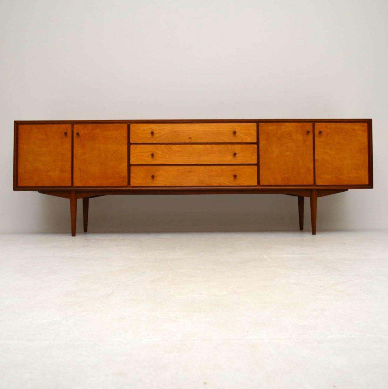 1960 S Vintage Teak Satin Wood Sideboard Retrospective Interiors Vintage Furniture Second