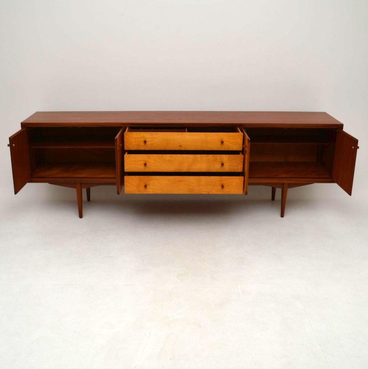 1960 S Vintage Teak Amp Satin Wood Sideboard