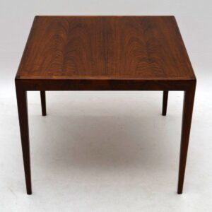 Danish Rosewood Retro Coffee / Side Table Vintage 1960's