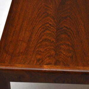 Danish Rosewood Retro Coffee / Side Table Vintage 1960's