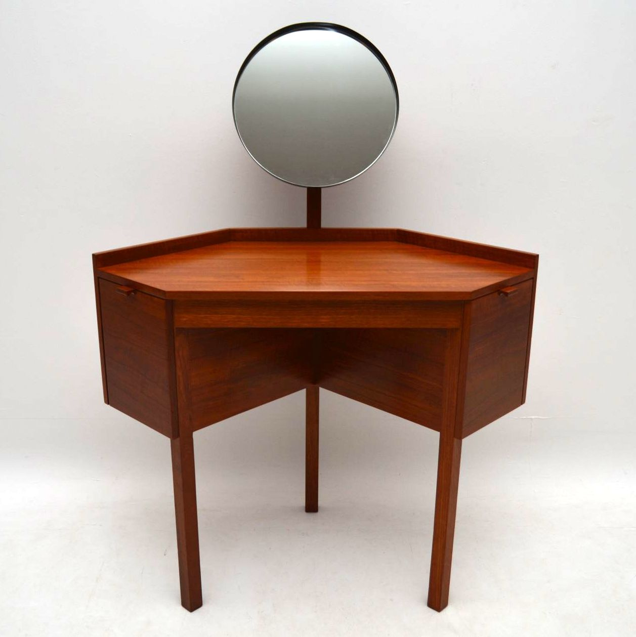 1960 S Danish Teak Dressing Table Retrospective