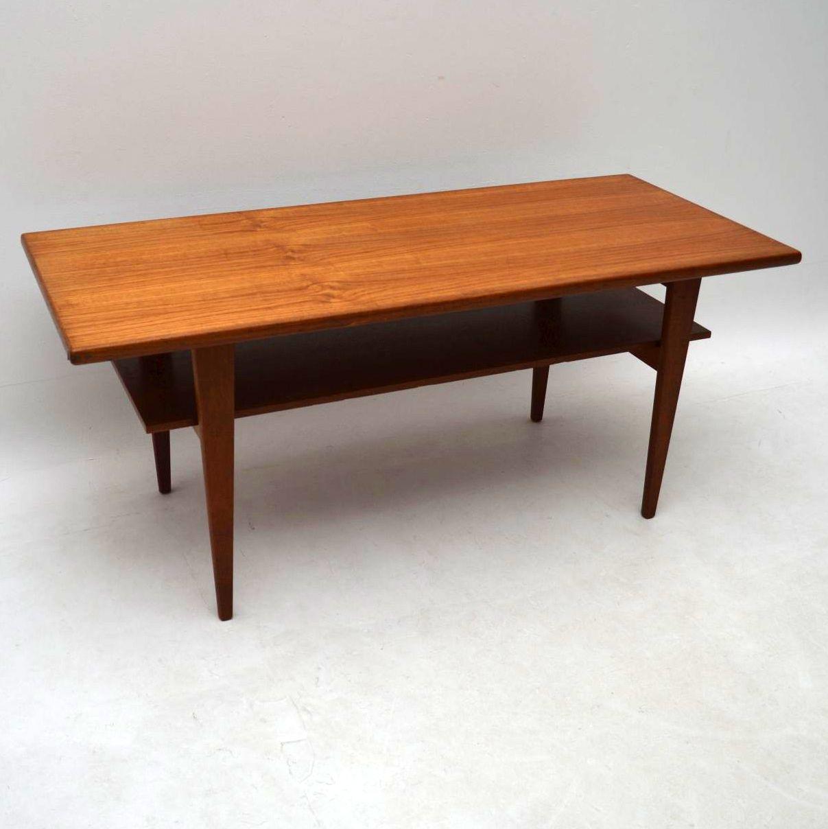 1960's Danish Teak Coffee Table