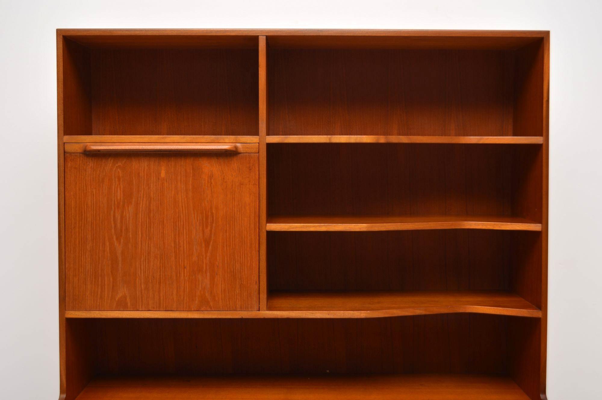 1960 S Teak Vintage Drinks Cabinet Bookcase By Mcintosh