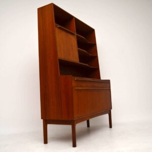 1960's Teak Vintage Drinks Cabinet / Bookcase by McIntosh