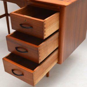 1950's Vintage Mahogany Desk
