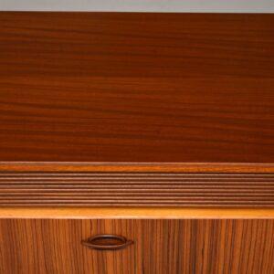 1960's Vintage Walnut & Zebrano Sideboard
