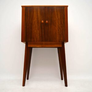 1950's Walnut Drinks Cabinet by Morris of Glasgow