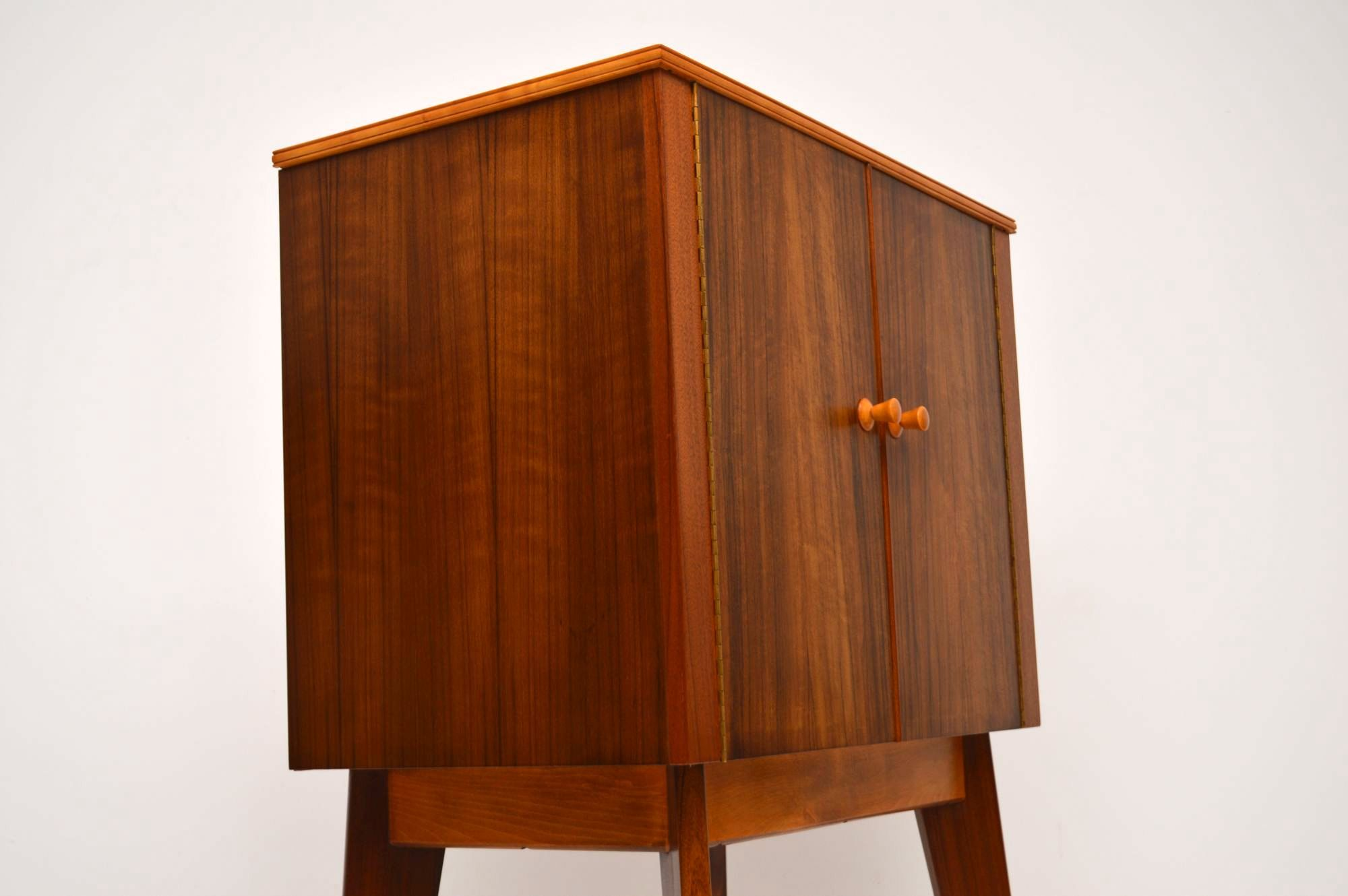 1950 S Walnut Drinks Cabinet By Morris Of Glasgow