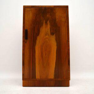 Art Deco Vintage Walnut Cupboard / Cabinet