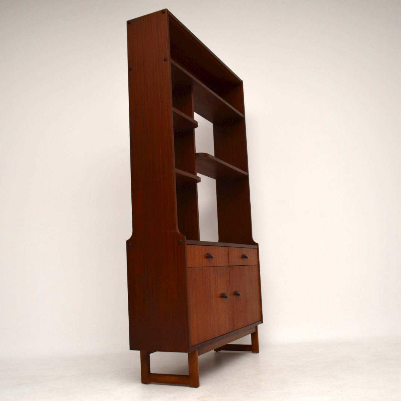 1960 S Teak Vintage Room Divider Bookcase
