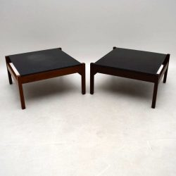 1960's Pair of Vintage Side / Coffee Tables by Guy Rogers