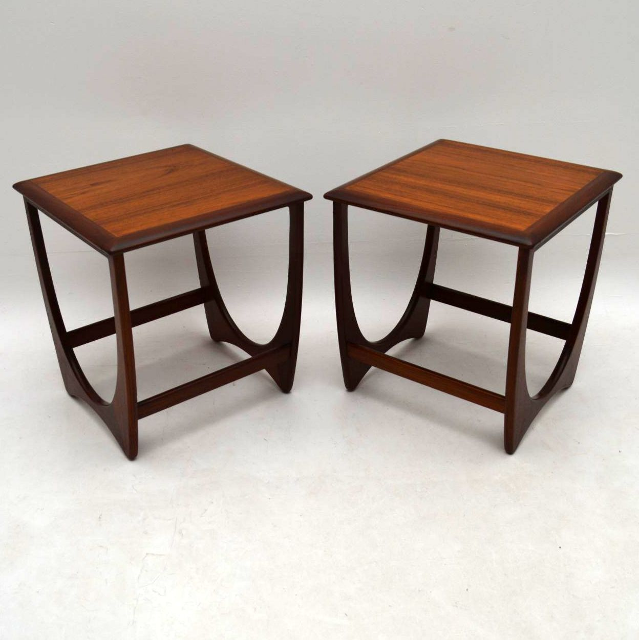 1960's Pair of Teak Side Tables by G- Plan