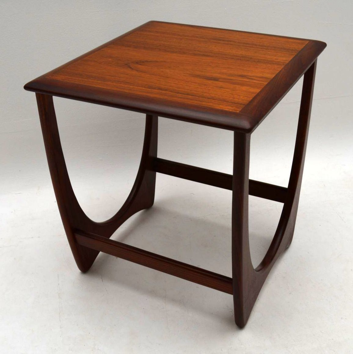Second Hand Teak Coffee Table: 1960's Pair Of Teak Side Tables By G- Plan