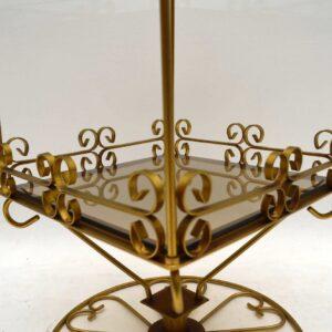 1970's Vintage Revolving Side Table