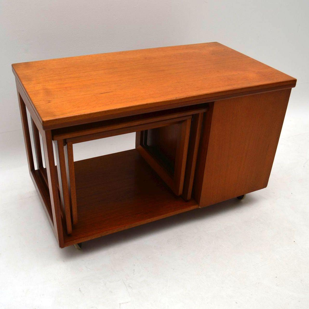 1960 S Teak Tristor Coffee Table By Mcintosh