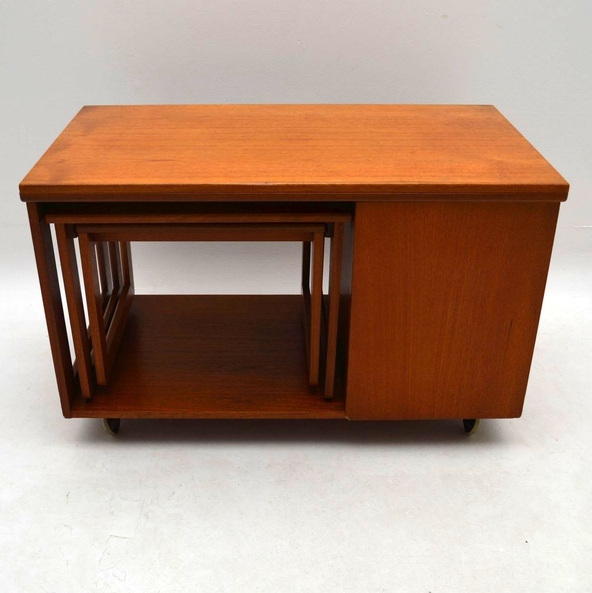 Second Hand Teak Coffee Table: 1960's Teak Tristor Coffee Table By McIntosh