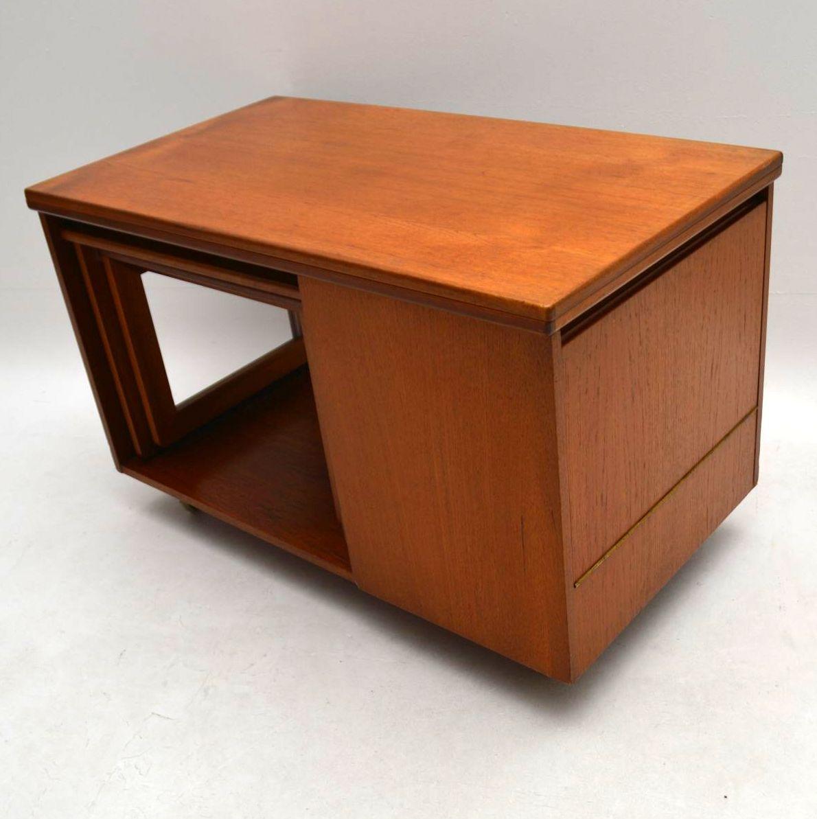 Second Hand Teak Coffee Table: 1960's Teak Tristor Coffee Table By McIntosh