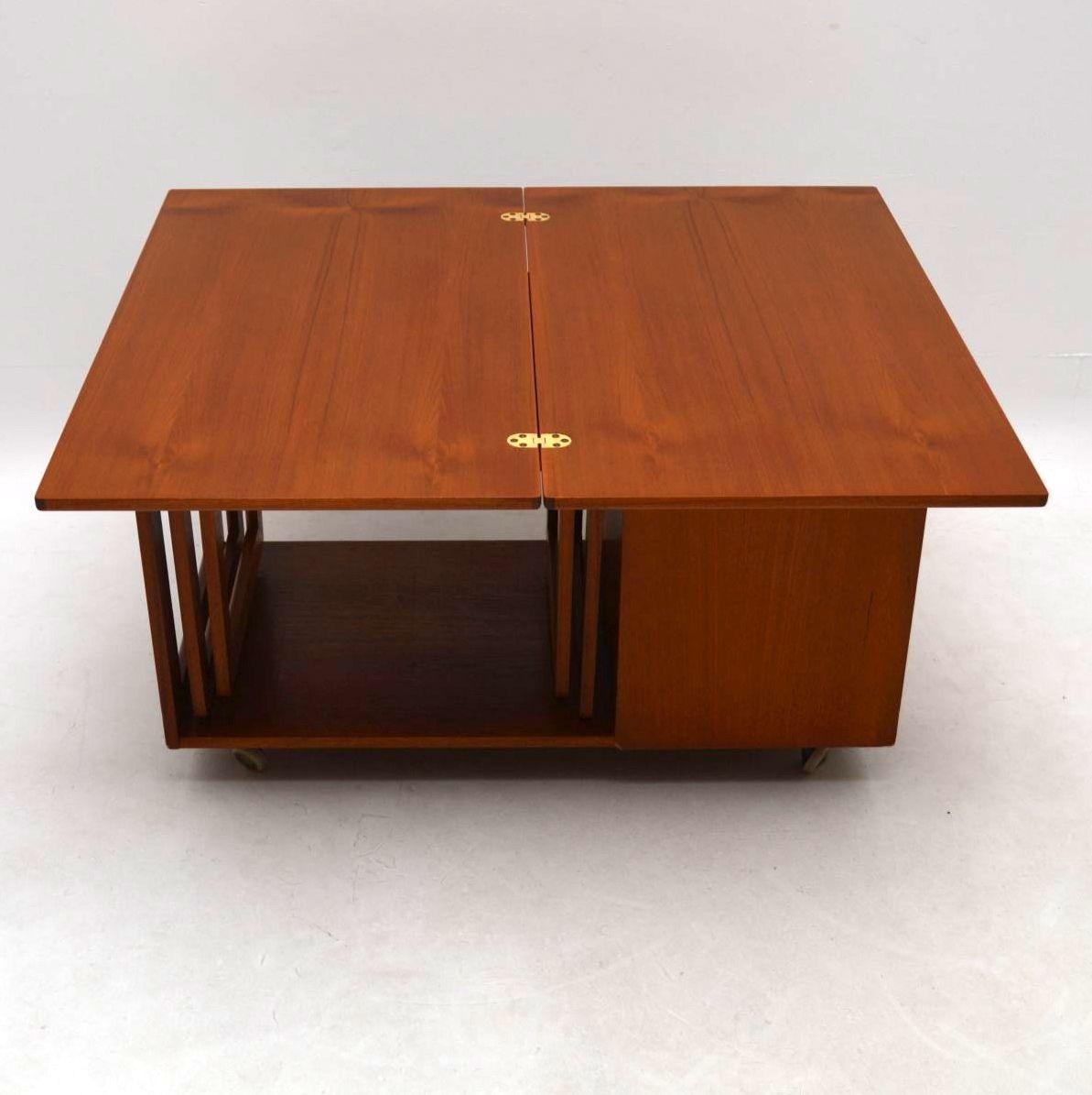 1960 S Teak Tristor Coffee Table By Mcintosh Retrospective Interiors