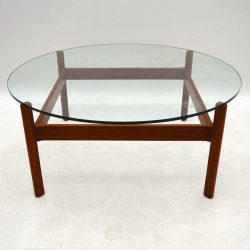 1960's Danish Teak Coffee Table by Illum Wikkelso